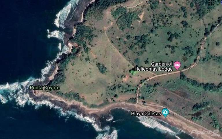 農場及牧場 出售 在 Punta Coyote: South Tip of Nicoya Peninsula Titled Beachfront, 2 Miles of Shoreline and Large River, Mal Pais, Guanacaste   , 哥斯達尼加